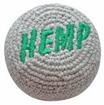 Embroidered Hemp Footbag