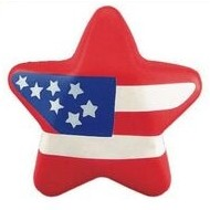 American Flag Star Miscellaneous Series Stress Reliever