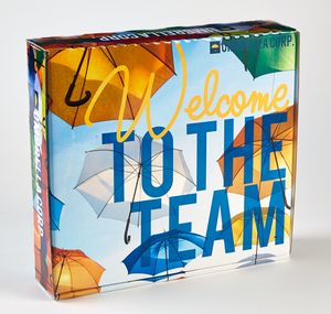 PRESENTATION & MAILER BOX (12.25 x 11.25 x 2.75) **Price Includes Full Color w/ High Gloss Finish