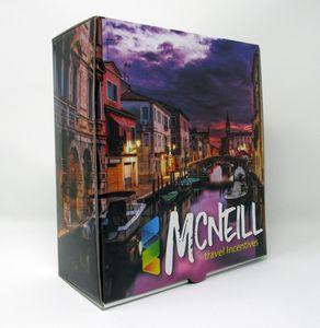 PRESENTATION & MAILER BOX (8 x 9 x 3.7) Full Color w/ High Gloss Film Laminate Finish