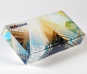 Presentation Box Mailer (11 X 5.5 X 2) Custom Full Color W/ Glossy Finish