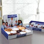 Custom Large Donut Display Box - Full Color & Gloss Finish in Pricing