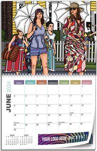 12 Photos Custom Wall Calendars - 11x17