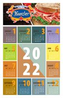 "Poster Calendar/Year At A Glance/Style A Stock (11""x17"")"