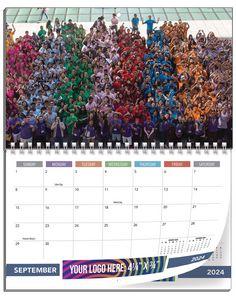 12 Photos Small Size Custom Wall Calendars - 8 1/2x11