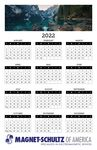 Poster Calendar/Year At A Glance/Style B (11