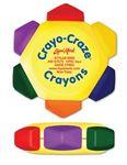 Liqui-Mark® Crayo-Craze® 6-Color Crayon Wheel (Yellow/Full-Color Decal)