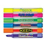 Liqui-Mark® Brite Spots® Clear Barrel Highlighter w/Broad Chisel Tip (Full-Color Decal)