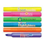 Liqui-Mark® Brite Spots® Fluorescent Barrel Highlighter w/Broad Chisel Tip