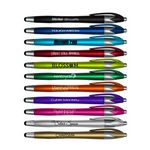 Custom iWriter Silhouette Stylus & Pen Combo - Black Writing Ink