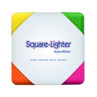 Square Lighter 4 Color Fluorescent Highlighter