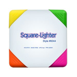 Square Lighter 4 Color Fluorescent Highlighter