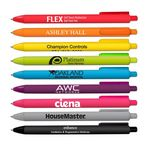 Custom Soft Touch Rubberized Ball Point Pen