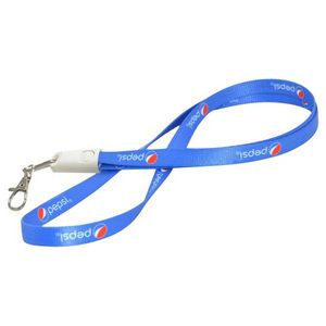 2 in 1 Lanyard USB Charging and Data Cable for iPhone and Android with  Keychain Nylon - CB-L200 - IdeaStage Promotional Products f53c5575d86bf
