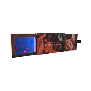 Retractable 24 Lcd Screen Business Card Size Video Brochure And