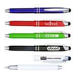 Custom High Quality Metal Pen w/Writing Light and Stylus
