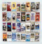 Custom Wall Display 32 Pocket Brochure Holder