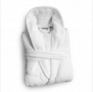 Mink Touch Robe - White - MTR-9999-WHT - IdeaStage Promotional Products efed32b47