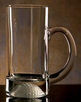 Golfer's Beer Mug. 13 oz. Etched Golf Ball on bottom of mug