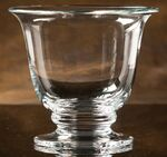 Custom Heritage Hall Award Bowl. Footed. Non-Lead Crystal.