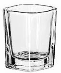 Custom Foursquare Shot Glass. 2 oz. Premium Glass.