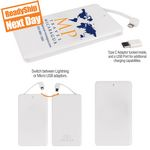 Custom P4000 4-in-1 Flip Power Bank