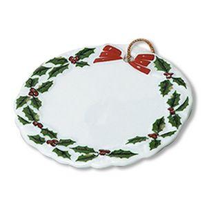 Custom Imprinted Round Shaped Porcelain Ornaments!