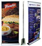 Custom LD2 Premium Double Sided Banner Stand