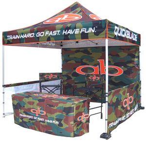 Digital Package 3 Pop Up Canopy Tent w/Steel Frame (10x10)