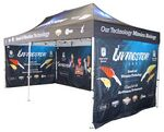 Custom Digital Pop Up Canopy Tent w/Aluminum Frame (10'x20')