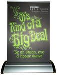 Custom Banner Stand - A-4 (Table Top Double Sided)