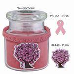 Custom Cancer Awareness Candle Gift Set
