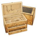 Custom Reed & Barton Selene Jewelry Chest
