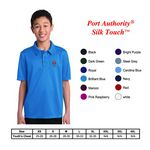 Custom Port Authority?Youth Silk Touch Performance Polo