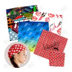 Full Color Microfiber Bandanas