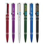 Custom Metal Pen, Ballpoint pen, Click action, Blue ink refill optional