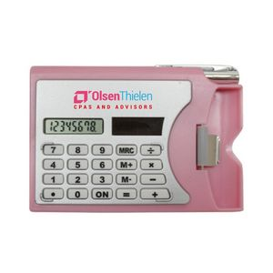 Promotional Product - Calculator W/Card Holder (Full Color Process)
