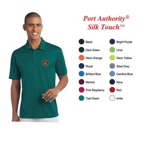 Port Authority?Men Silk Touch Performance Polo
