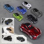 800DPI 2.4GHZ Wireless Sport Car Optical Mouse