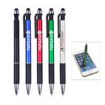 Custom Click Action Stylus Ballpoint Pen,with digital full color process