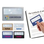 Custom Credit Card Magnifier with Ruler (Full Color Process)
