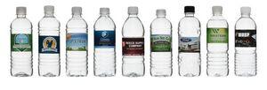 16.9 Oz Custom Label Bottled Water