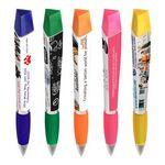 Custom Ad Pen with Highlighter