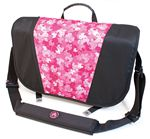 Custom Sumo Messenger Bag - Black/Red