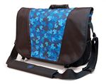 Custom Sumo Messenger Bag - Black/Blue