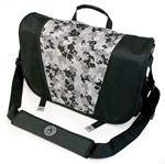 Custom Sumo Messenger Bag - Black/Silver