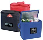 Custom Non-Woven Cooler Tote Bag w/ Foil Lining