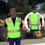Custom ANSI 107-2015 Class 2 Neon Green Surveyor Safety Vest