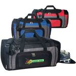 Custom Over Night Duffel Bag w/ Shoe Storage