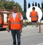 Custom Safety Vest - ANSI 107-2015 Neon Orange